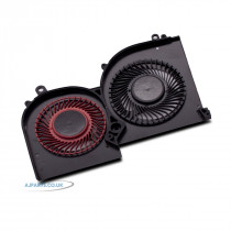 New Replacement For MSI Stealth GS65 8RF GS65VR MS-16Q2 Series 4 Pin Wire GPU Slim Cooling Fan