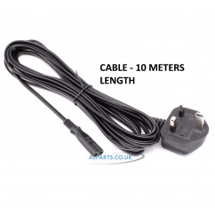 Replacement For 2 Pin Cable 10 Meter 3 Amp Fuse RLC8