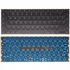 Replacement Macbook A1534 2016 2017 Year Backlit keyboard UK Layout
