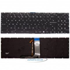 New Replacement For MSI GE72 GS73VR GE62 GP72 GL72 UK Black Backlit Keyboard 9Z.NCXBN.10U