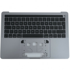 """Compatible for MacBook Pro 13"""" A1706 Late 2016 - Mid 2017 Palmrest Cover UK Keyboard - Space Grey"""